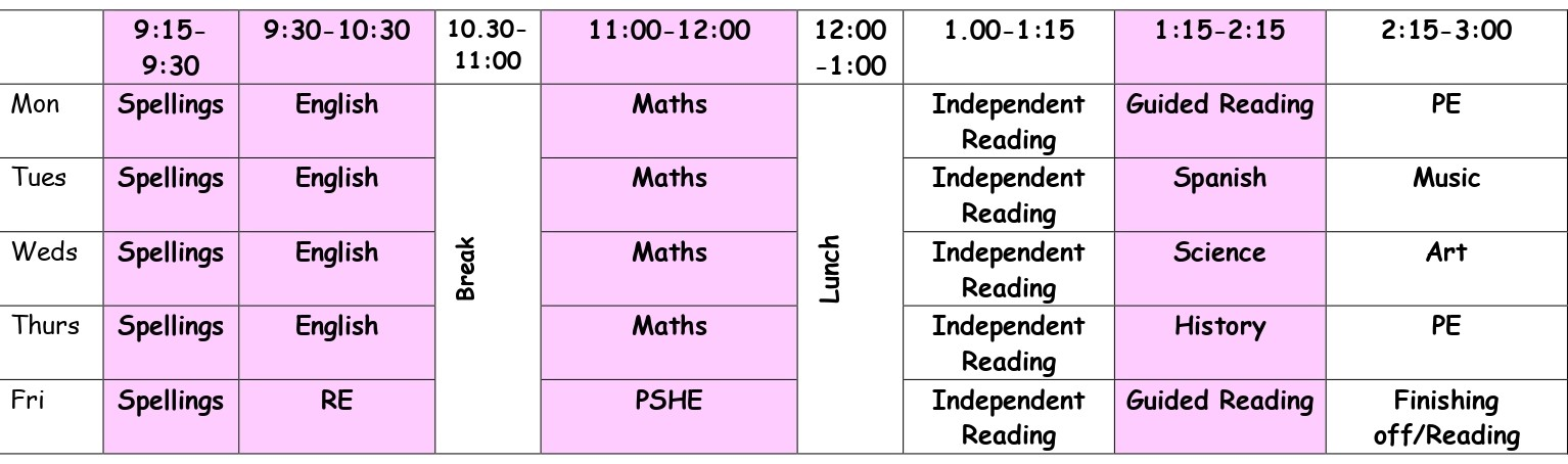 Y5-Remote Learning Timetable_page-0001